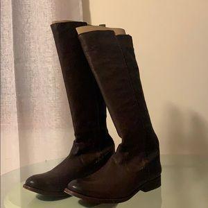 Frye Molly gor brown boot